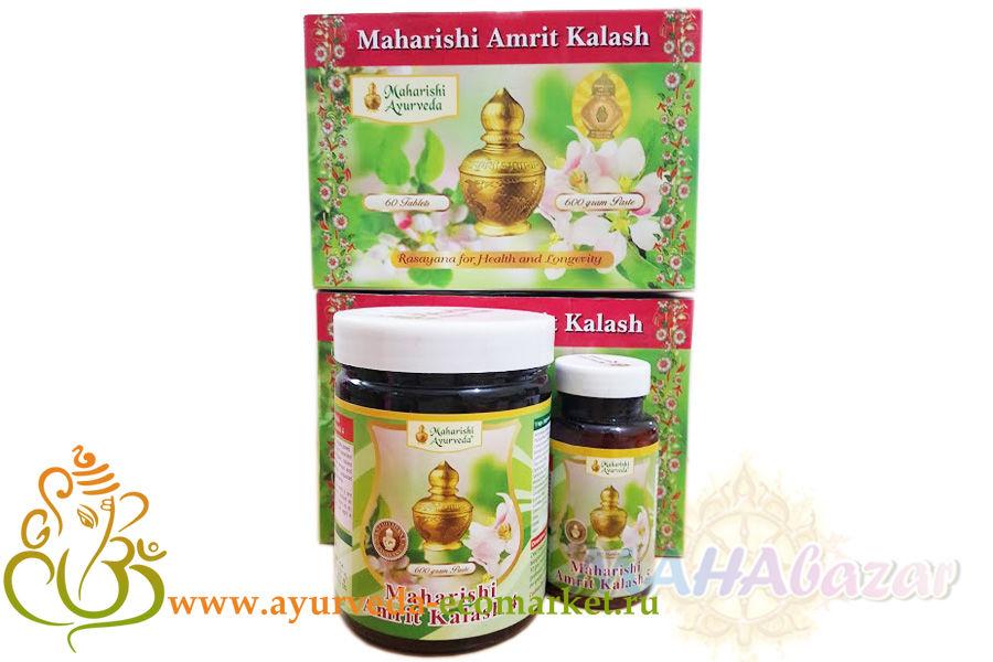 Фото 848: Амрит Калаш (Amrit Kalash) от Maharishi Ayurveda 60 таб.
