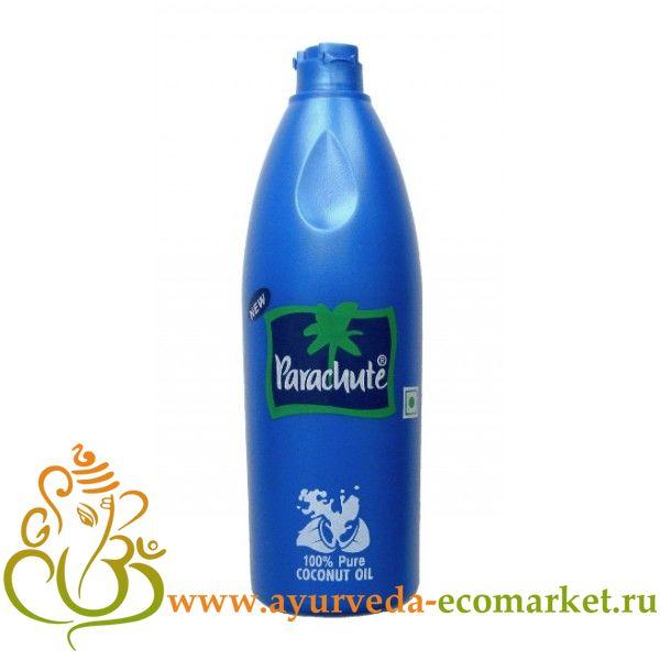 """Кокосовое масло в бутылке,100 мл., производитель """"Парашют"""", Coconut Oil, 100 ml. Parachute"""