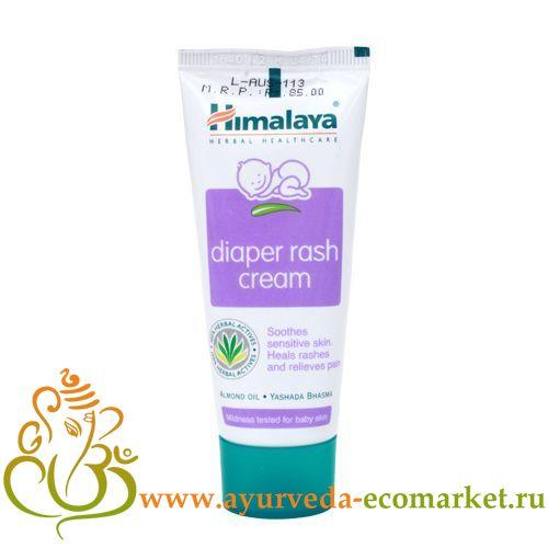 """Фото 8815: Детский крем от опрелостей, 20 гр., производитель """"Хималая"""", Diaper Rash Cream, 20 gm. Himalaya"""