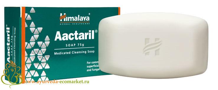 """Аюрведическое мыло """"Актарилл"""", 75 гм., производитель """"Хималая"""", Aactarill Soap, 75 gm. Himalaya"""