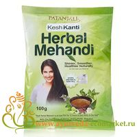 Фото 9168: Хна натуральная Кеш Канти (Kesh Kanti Herbal Mehandi) от Patanjali